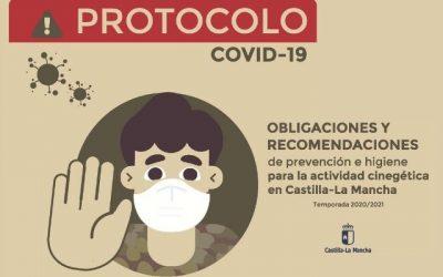 PRACTICA LA ACTIVIDAD CINEGÉTICA EN CASTILLA-LA MANCHA DE MANERA SEGURA